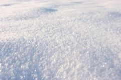 snowy surface Royalty Free Stock Photography