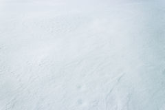 Snowy surface texture Royalty Free Stock Photography