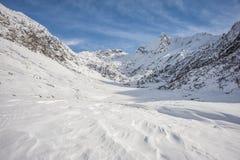Snowy-Tal Stockfoto