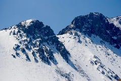 Snowy Toulca Lizenzfreie Stockfotos