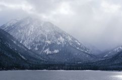 Snowy Wallowa Mountains royalty free stock images