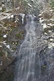 Snowy waterfall Royalty Free Stock Photography