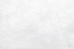 Snowy white christmas background with stars. Stock Image