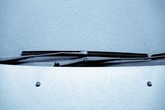 Snowy windscreen Royalty Free Stock Photo