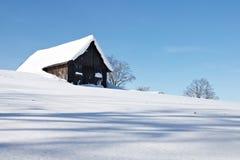 Snowy-Winter Lizenzfreie Stockfotografie