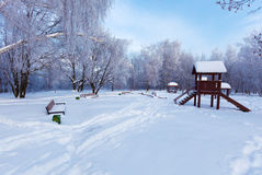 Snowy Winter Landscape Royalty Free Stock Photo