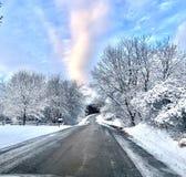 Snowy Winter Morning royalty free stock photos