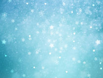 Snowy winter New Year background Royalty Free Stock Images
