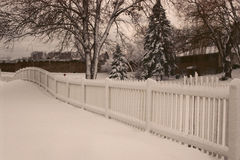 Snowy wundervoll Lizenzfreies Stockbild