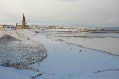 Snowylongsands Stockfotos