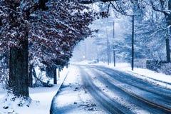 SnowyStreet Imagen de archivo