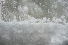 The snowzilla Jonas blizzard snow winter storm on January 23, 2016 Royalty Free Stock Photos