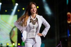 SNSD-Band am Festival menschliche Kultur EquilibriumConcert Korea in Vietnam stockbilder