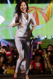 SNSD band at the Human Culture EquilibriumConcert Korea Festival in Viet Nam Stock Images
