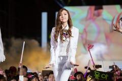 SNSD zespół przy Ludzkiej kultury EquilibriumConcert Korea festiwalem w Wietnam Zdjęcia Stock