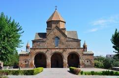 Snt Gayane古老教会, Echmiadzin,亚美尼亚 免版税库存图片