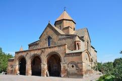 Snt Gayane oude Kerk, Echmiadzin, Armenië stock afbeelding