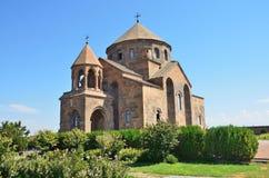 Snt Hripsime古老教会, Echmiadzin,亚美尼亚 免版税库存照片