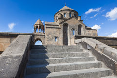 Snt Hripsime古老教会, Echmiadzin,亚美尼亚 图库摄影