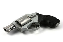 Snub-Nose Handgun Revolver Royalty Free Stock Images