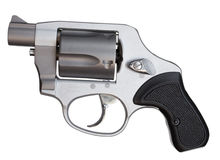 Snub nosed revolver Stock Photo