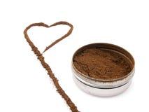 Snuff a coração-forma Imagem de Stock Royalty Free