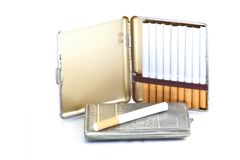 Snuffboxes 3 Royalty Free Stock Images