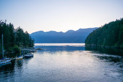 Snug Cove in the morning Royalty Free Stock Photos