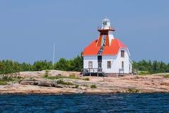 Snug Harbour Lighthouse Stock Photo