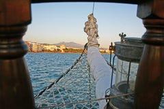 Snuit van rubberboot Royalty-vrije Stock Fotografie