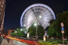 Snurr för stort hjul Royaltyfri Bild