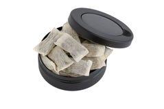 Snus, tobacco Stock Image