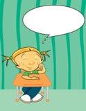 Soñador del día stock de ilustración