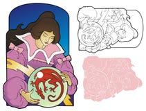 Soñador del dragón Imagen de archivo libre de regalías