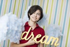 Soñador joven Foto de archivo