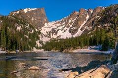 Soñe el lago Imágenes de archivo libres de regalías