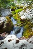 Soča River in Slovenija Royalty Free Stock Photos