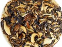 Soaked Dried Mushrooms Royalty Free Stock Photos