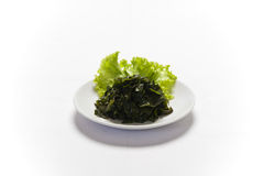 Soaked wakame seaweed Royalty Free Stock Image