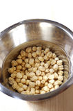 Soaking chickpeas Stock Photos