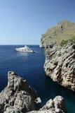 Soaking in the sun. Near Cala Sa Calobra, Mallorca Royalty Free Stock Photography