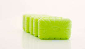 Soap. On a white background Stock Photography