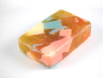 Soap. Multicolored soap Royalty Free Stock Photos