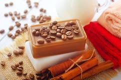 The soap Royalty Free Stock Photo