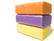 Soap. Handmade French Soap Stock Image