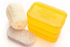 Free Soap And Loofa Stock Photo - 2365590