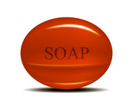 Soap Bar. Created with the help of mesh tool in computer software Royalty Free Stock Images