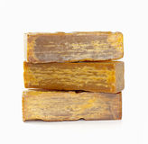 Soap bar. Bar of the brown soap Stock Image