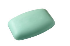 Soap bar with clipping path Stock Image