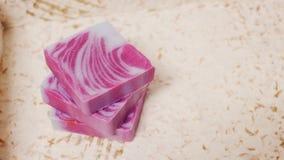 Soap bar. Handmade stock photo